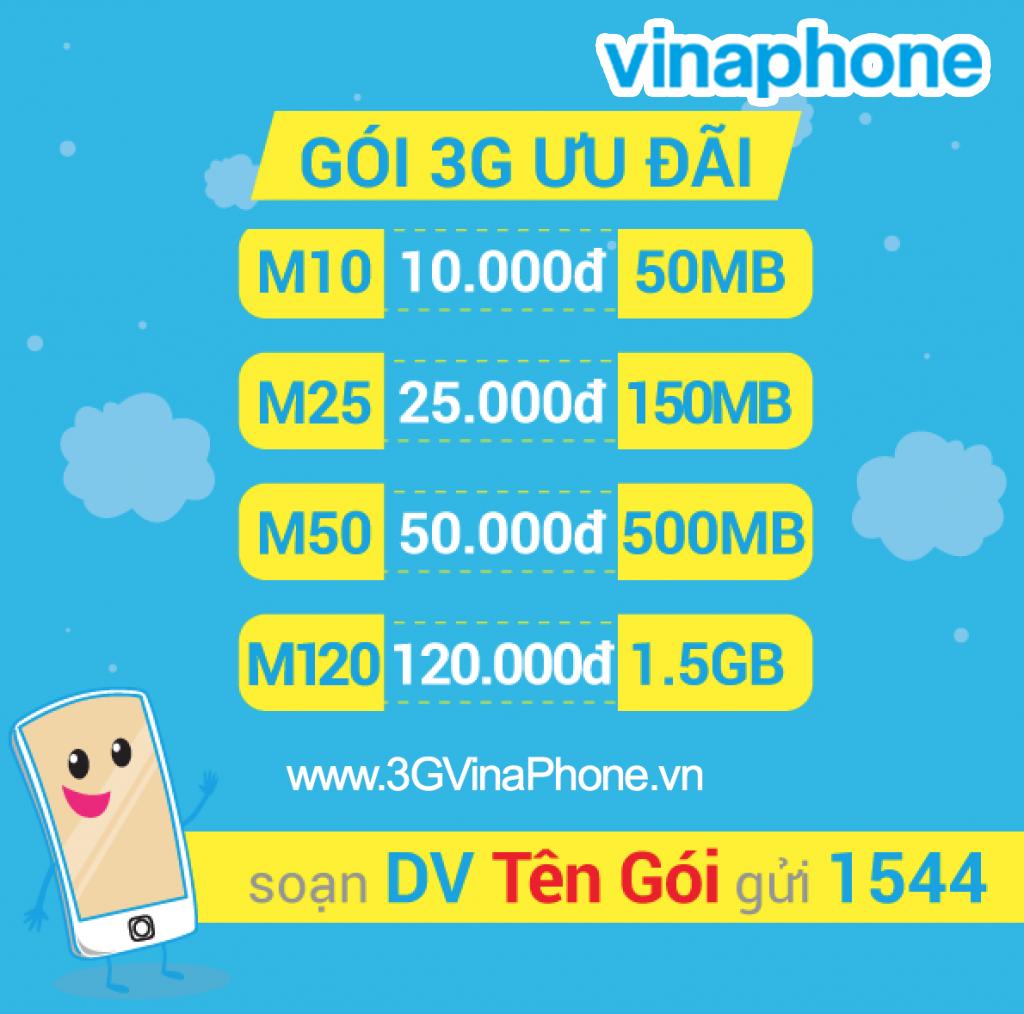 Nếu ai cần truy cập mạng thường xuyên, tốt nhất nên chọn các gói 3G  Vinaphone không giới hạn lưu lượng. Trong 5 gói cước, gói Max được nhiều  khách hàng lựa ...