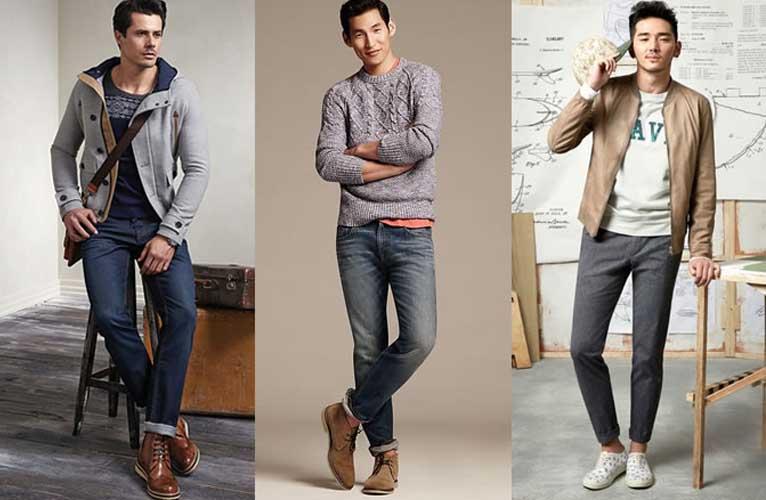 Cách phối màu quần áo nam lịch sự