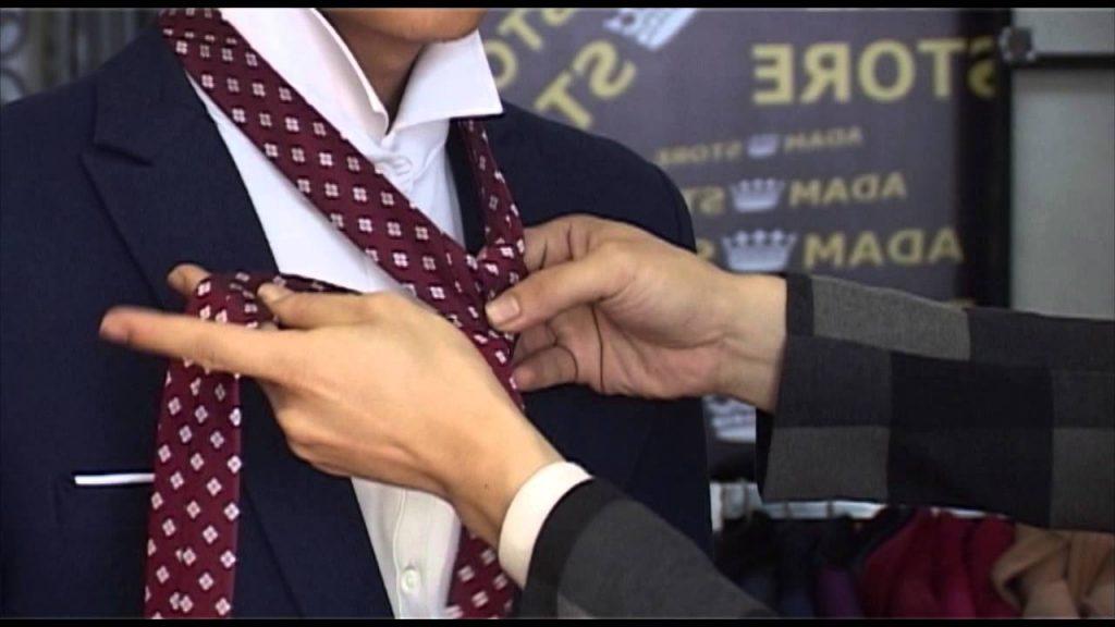 cách thắt cà vạt đúng cách