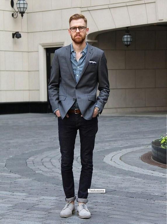 đi giày nào khi mặc vest
