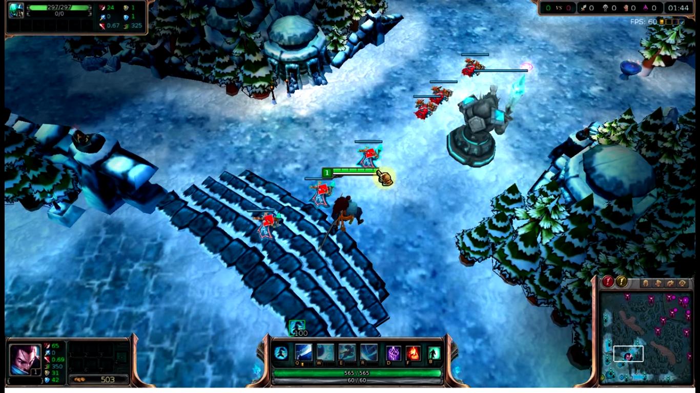 Hướng dẫn mod map lol băng tuyết mới nhất