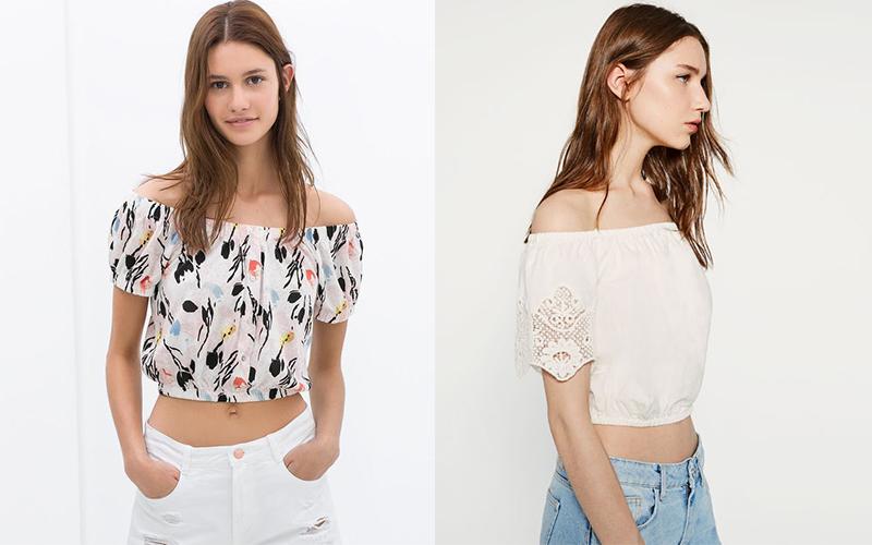 Image result for Mẫu áo crop top nữ đẹp hè 2018