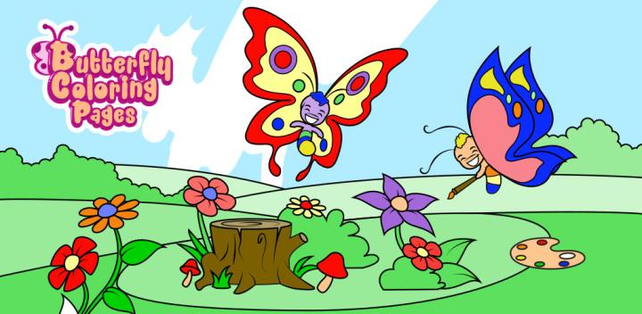 Image result for Tranh tô màu con bướm