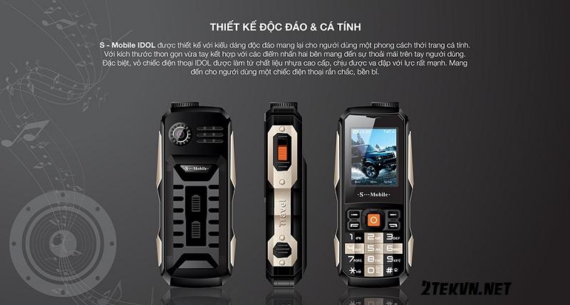 điện thoại pin khủng s-mobiile idol