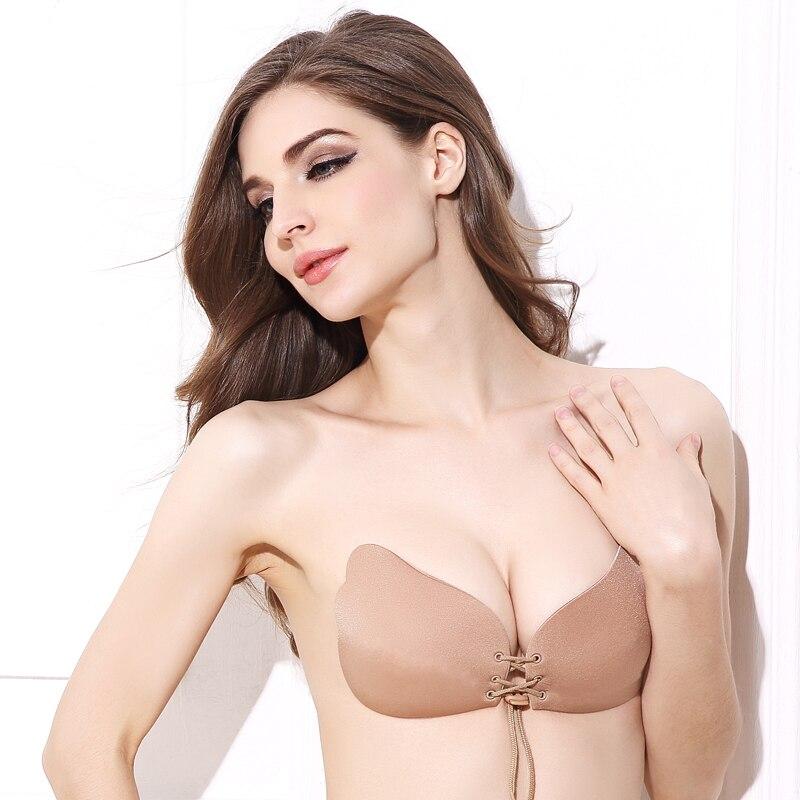 Áo lót silicon không có dây lưng phù hợp tuyệt đối với áo trễ vai hoặc áo xẻ lưng