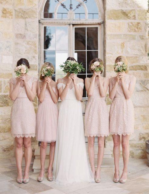 Kiểu dáng váy dự tiệc cưới cho phù dâu