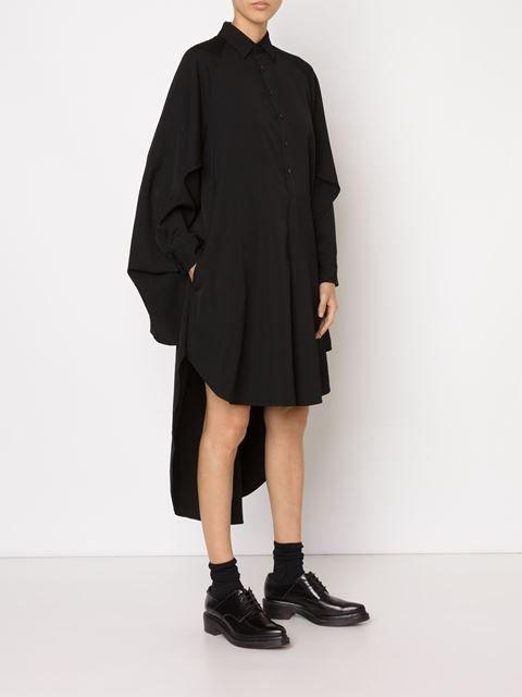 Yohji Yamamoto asymmetric shirt dress