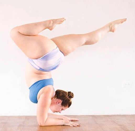 Người mập cũng có thể tập Yoga