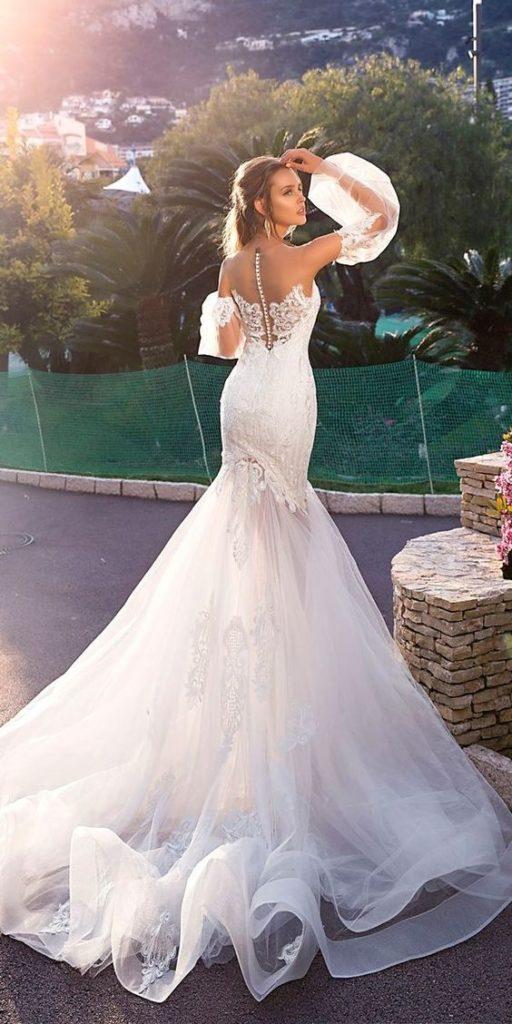 Chọn Váy cưới cho CUNG SƯ TỬ nóng bỏng